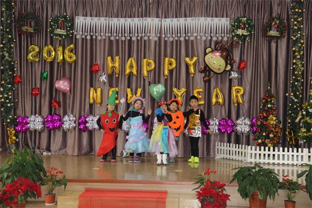 海灣幼兒園舉行迎新年狂歡秀暨環保時裝表演活動