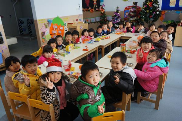 三花幼儿园圣诞节活动