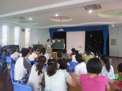 教师的服务132p图片_廊下幼儿园暑期教师培训系列报道 - 上海学前教育网