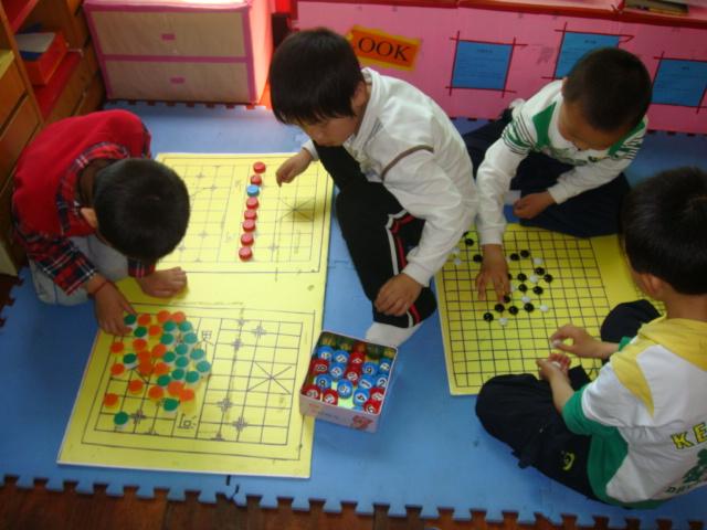 阳光城幼儿园骨干教师区域活动展示