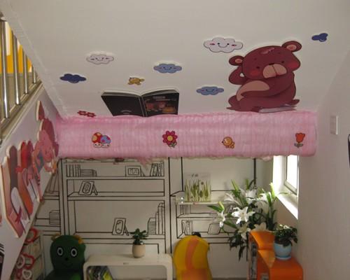 幼儿园楼梯间墙面手工制作大全