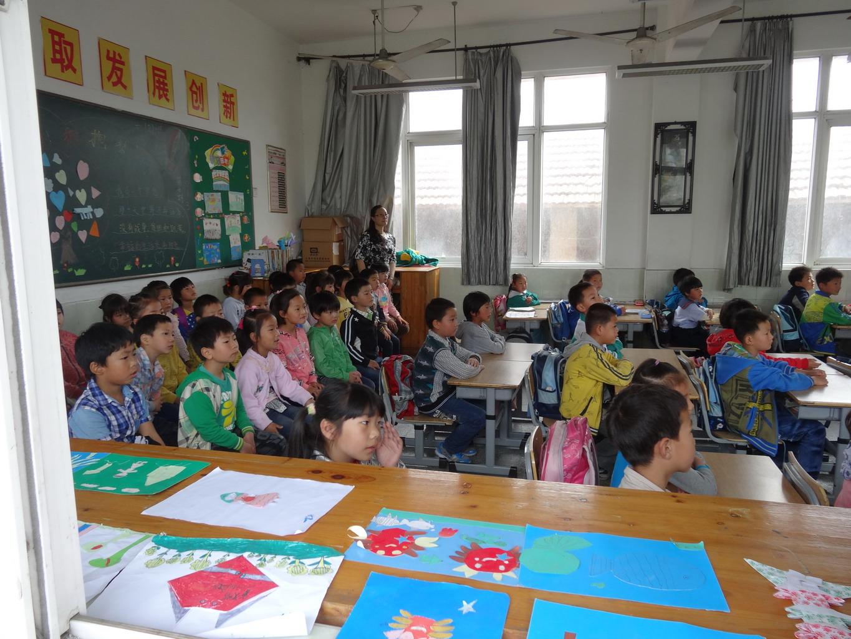 合兴幼儿园组织幼儿参观小学