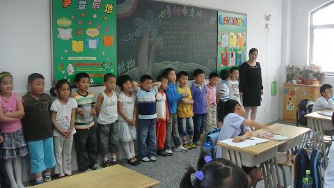 走进小学——记九亭幼儿园大班幼儿园参观小学活动