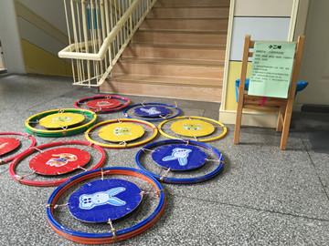 巧手diy,环保新创意---景凤幼儿园教师自制户外运动