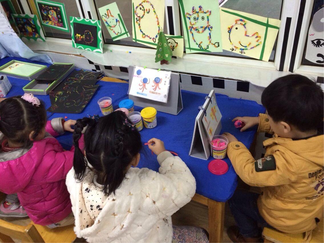 闵行第一幼儿园开展中大班区域游戏研讨活动