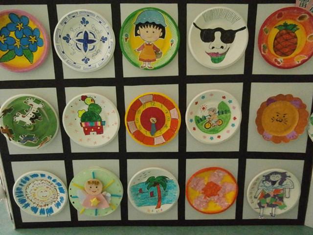 贝贝幼儿园开展纸盘创意比赛
