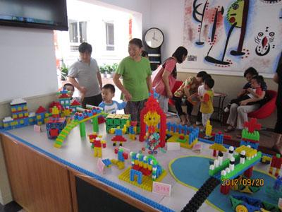临潼路幼儿园举行大班幼儿结构展示活动