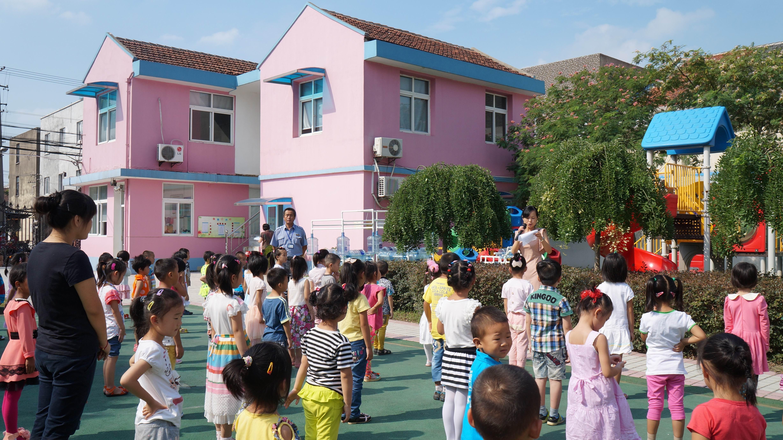 """新农幼儿园""""开学安全教育第一课""""活动"""