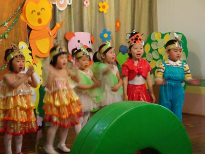 西街幼儿园第四届童话剧开演啦