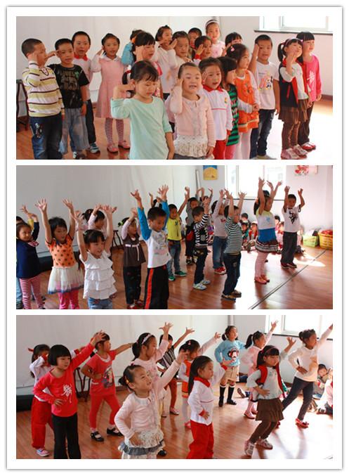 钱圩幼儿园开展重阳节活动