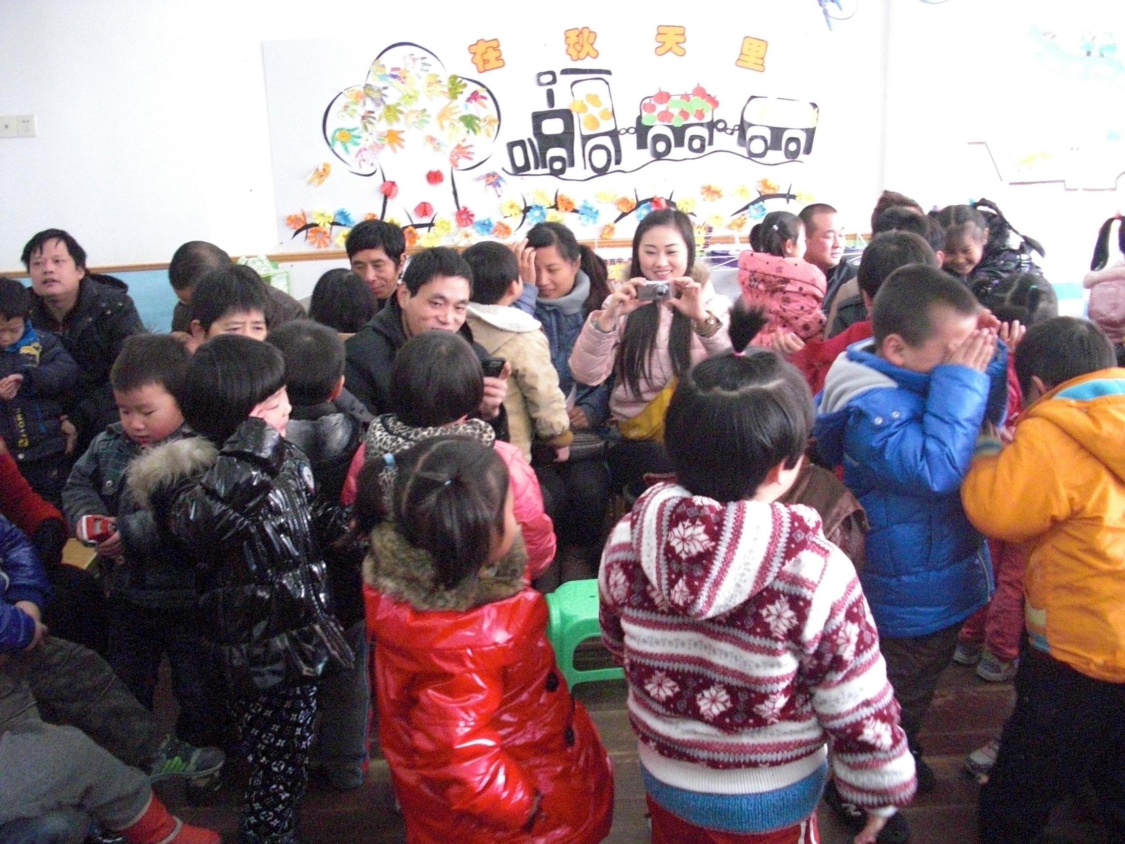 佳木斯路幼儿园家长开放日活动