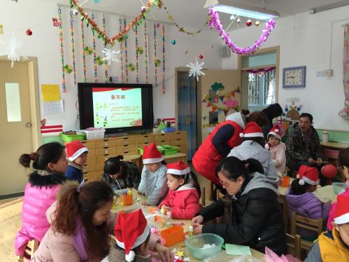 迎新年——景凤幼儿园迎新亲子小制作活动
