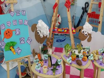 创意趣多多 蔬果变变变:徐汇实验幼儿园中班亲子创意展图片