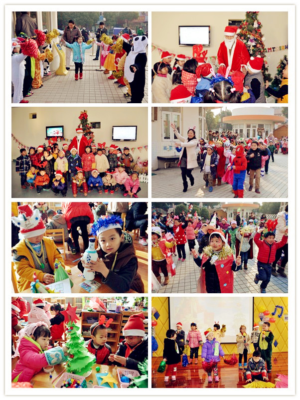 华新幼儿园开展圣诞节特色节日活动