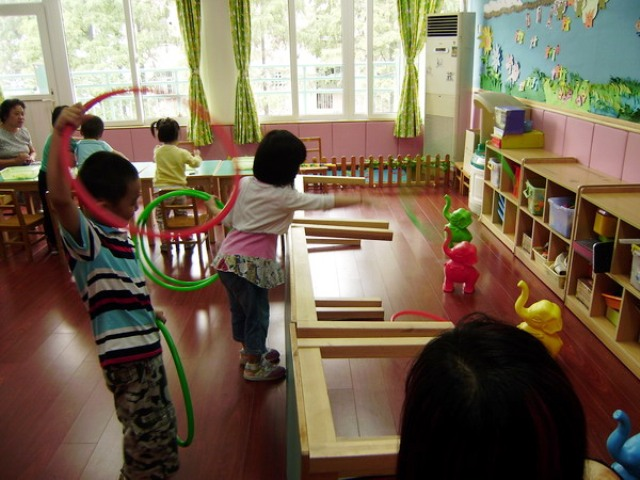 古北路第一幼儿园国庆游园活动