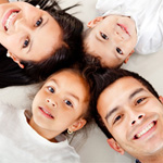 孩子成长需要亲密的家庭支持