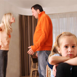在孩子面前该如何吵架?