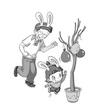 小班运动:小兔跳跳跳