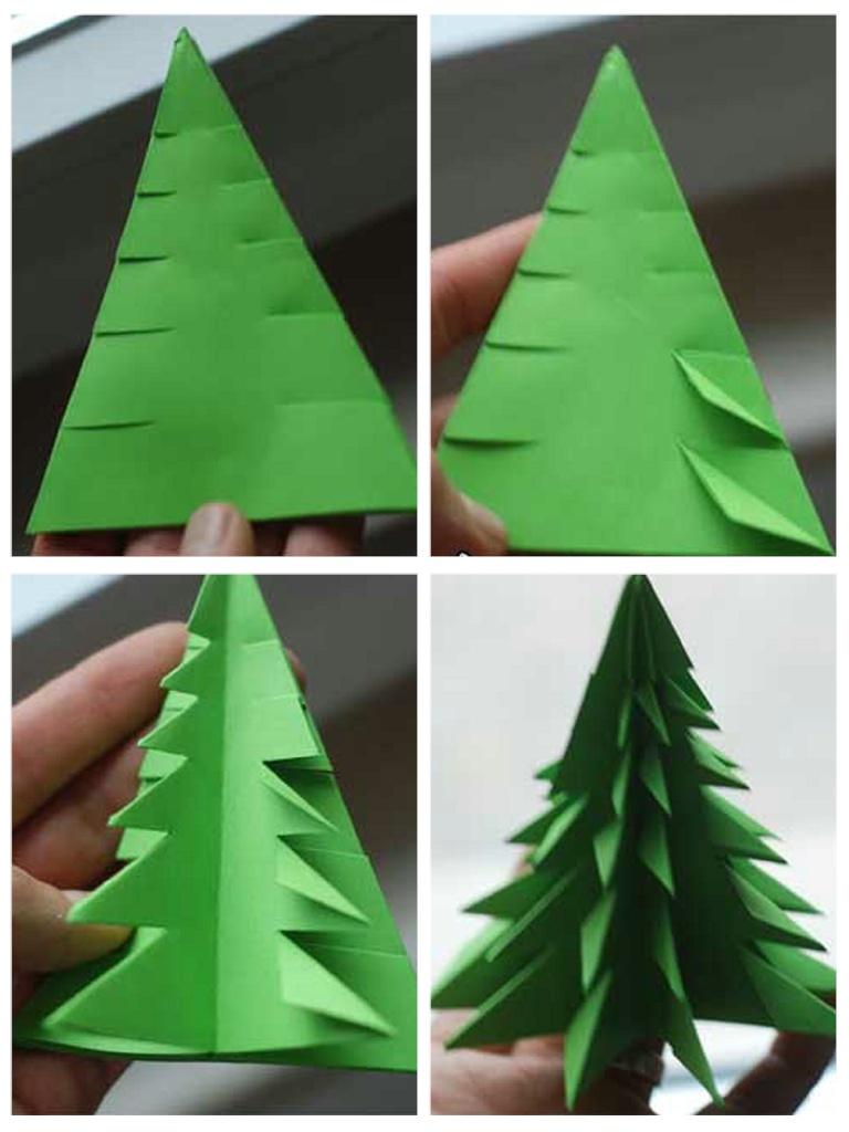 亲子手工:圣诞树 - 天使园 - 天使正能量