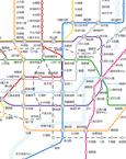 大班生活:地铁线路图
