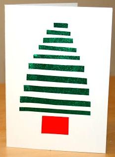 亲子手工:圣诞贺卡(1)