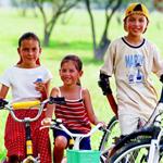加拿大社区督促孩子做运动
