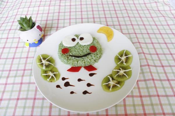 【教你做】小青蛙饭