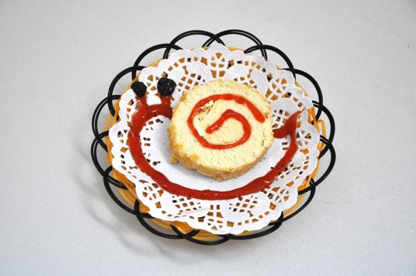 【教你做】蜗牛蛋糕小小卷