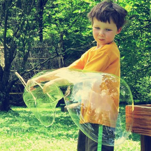 自制泡泡水安全好玩 配方大全