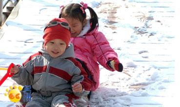 寒假生活图记之玩雪