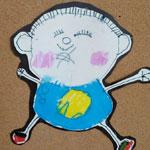 幼儿园孩子的自说自画