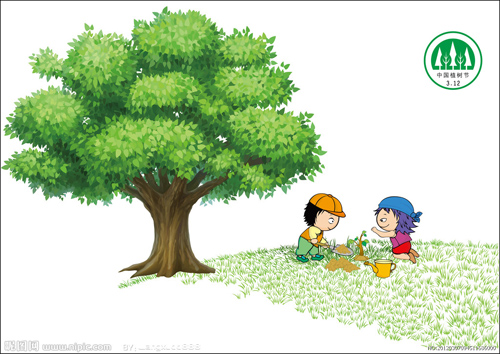 活动一,树叶粘贴画图片