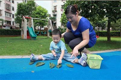 25-36个月宝宝亲子游戏:树叶宝宝找朋友