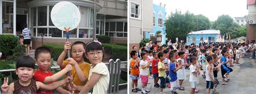 宝山开学典礼让孩子自豪走进幼儿园