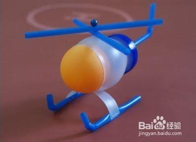 幼儿园教玩具制作:小飞机