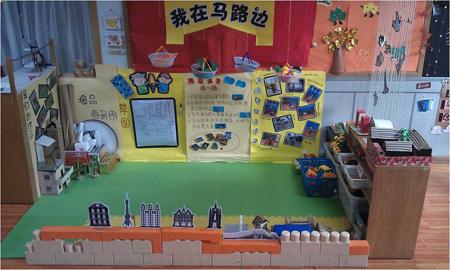 【教师发展】学习性区域活动设计:我在马路边(建构区)