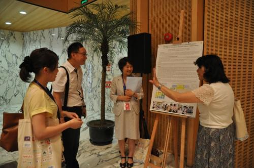 omep海报展:与社区社会资源的合作 - 上海学前教育网