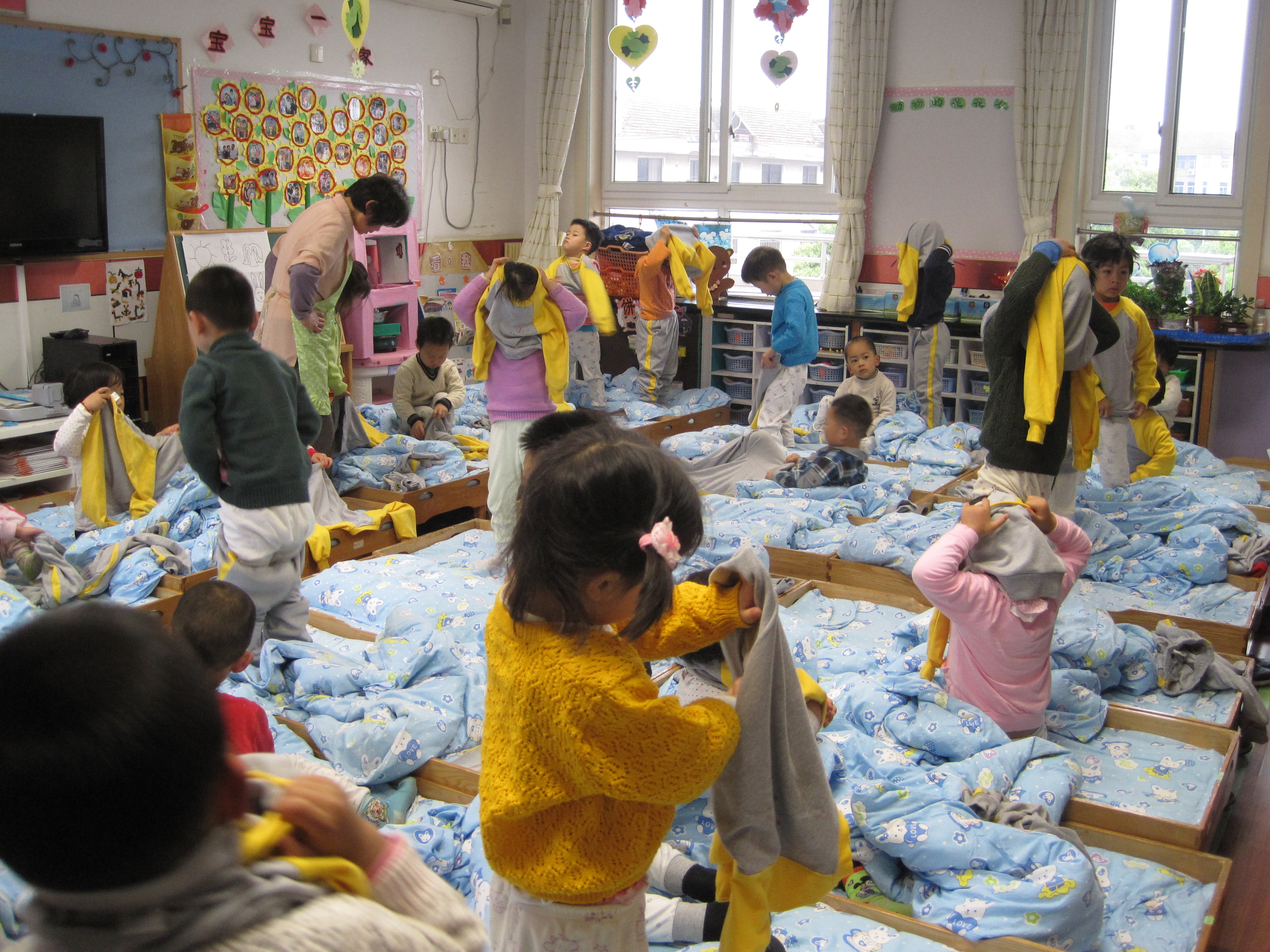 促小班幼儿自理能力的发展