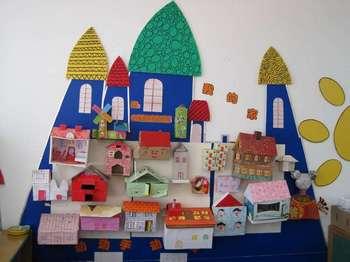 艺术天地——中班第一学期班级墙面