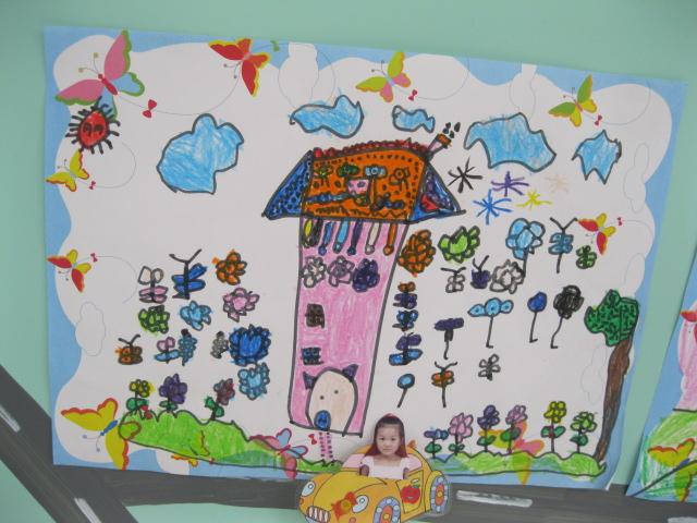 幼兒園中秋節主題墻 幼兒園蓋房子主題墻999 幼兒園