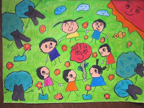 植树的儿童怎么画内容植树的儿童怎么画图片