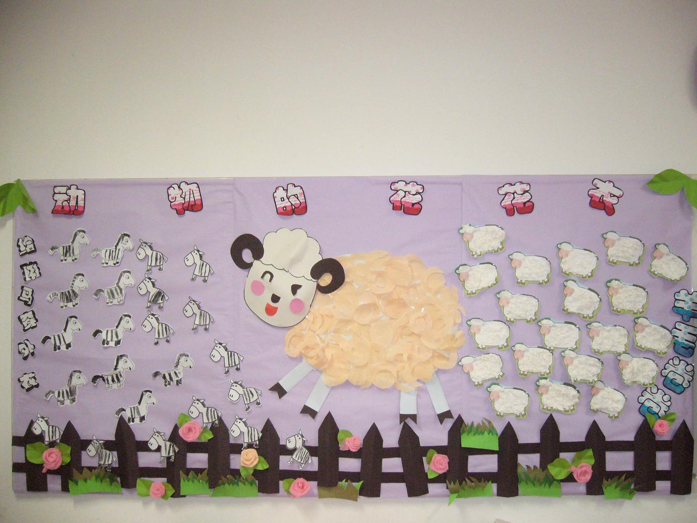 园所主页 班级主页 大1班 班级相册 幼儿作品  动物的花花衣