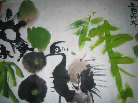 水墨画B 鸥鹭