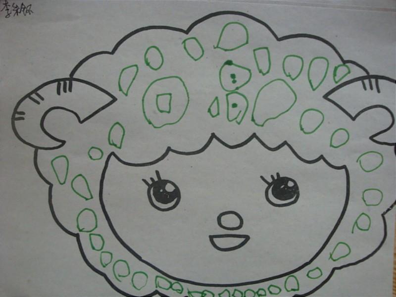 画画的新发型儿童分享展示