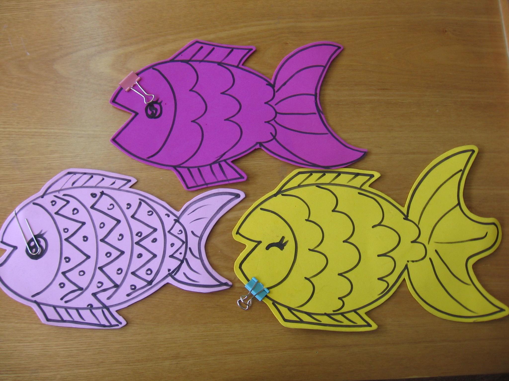 简单可爱小鱼绘画