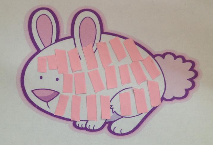 胖乎乎是一只可爱的小兔