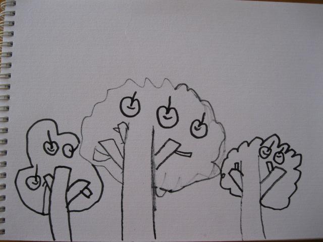 丰收的季节幼儿园简笔画
