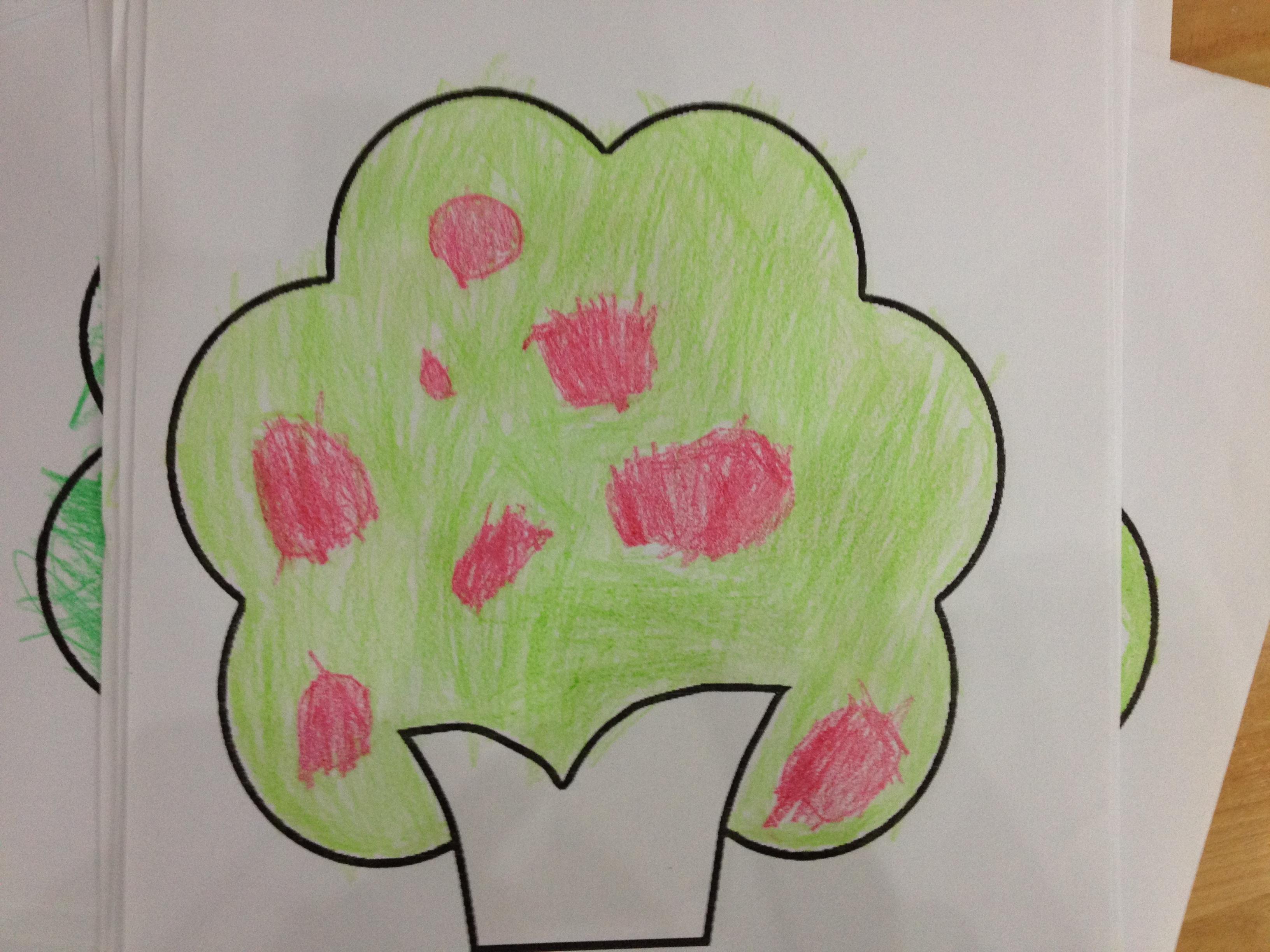 园所主页 大三班 幼儿作品  苹果树            发布时间: 2014年6月