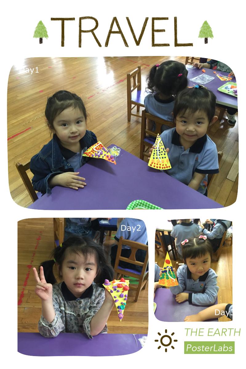 近来,我们帮孩子们过集体生日,孩子们在娃娃家里面也玩过生日的游戏,在手工活动中,我们也来做个水果蛋糕吧!你装饰樱桃,我装饰蓝莓,孩子们动手做了漂亮的水果蛋糕。