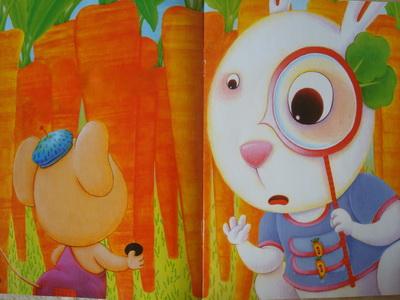 小老鼠找啊找,第一个找到了小兔